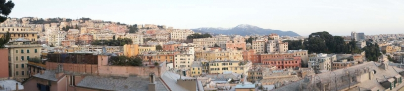 Blick vom Spianata Casteletto