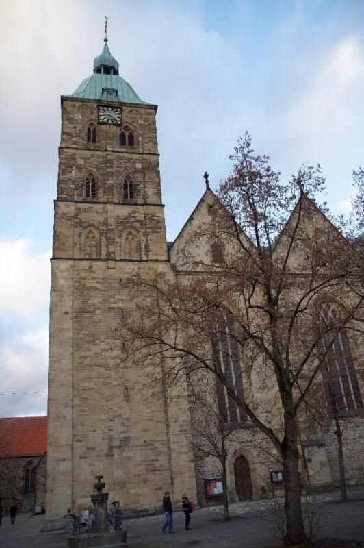 Seitenansicht von St. Johann