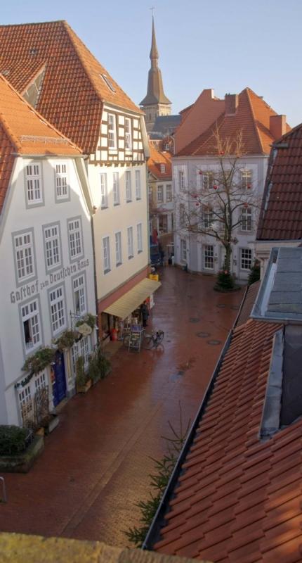 Sehr schöne Aussicht auf die Osnabrücker Altstadt