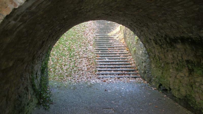 Schöne Durchsicht, Treppe zur Lotter Straße