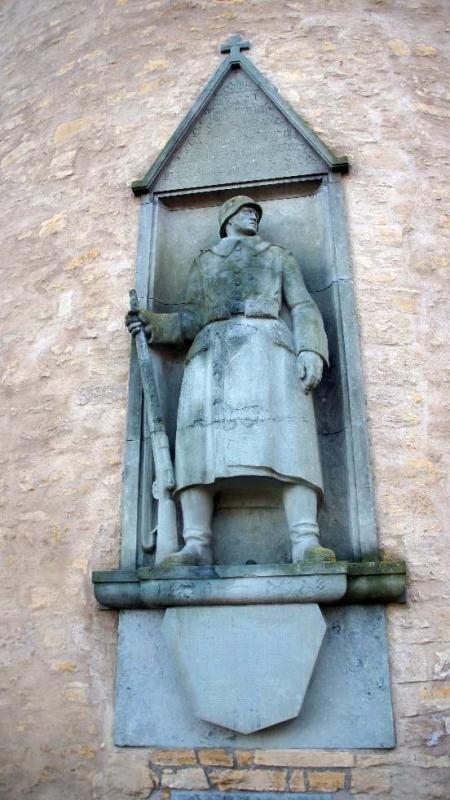Kriegerdenkmal von Hermann Hosaeus (1875-1958)