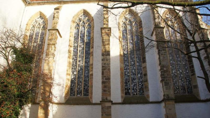 Seitenansicht der Dominikanerkirche