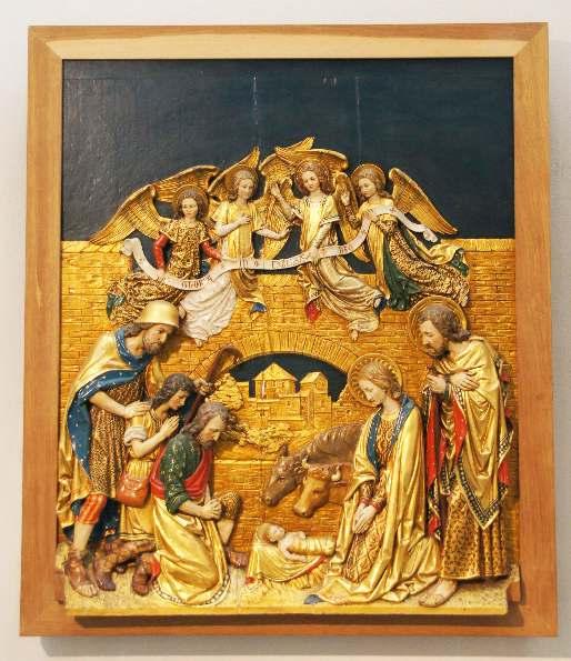 6 Altartafeln aus dem 1912 geschaffenen Hochaltar von Heinrich Seling (1843–1912)