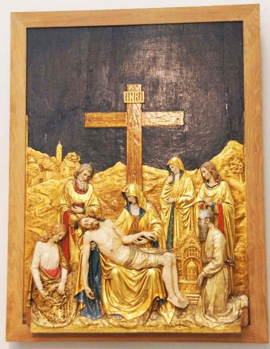 Die Tafeln wurden restauriert und im vorderen Bereich der Seitenschiffe angebracht. Sie hatten sich lange Zeit auf der Orgelempore befunden