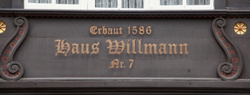 Erbaut 1586