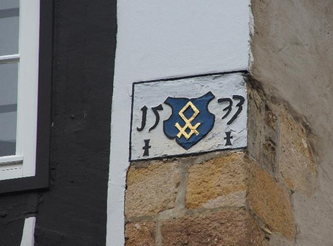 Grundsteinlegung 1533