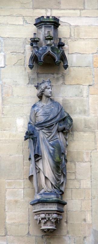 Statue am Osnabrücker Rathaus Friedrich II.