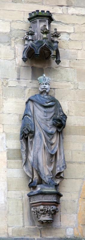 Statue am Osnabrücker Rathaus Wilhelm I.