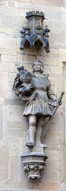 Statue am Osnabrücker Rathaus Maximilian I.