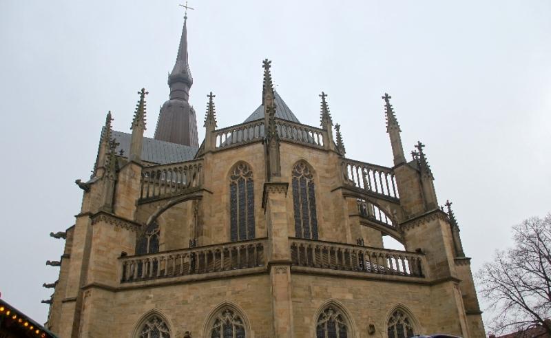 Marienkirche neben dem Rathaus