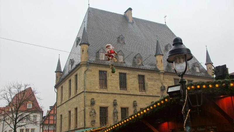Osnabrücker Rathaus im Dezember 2016